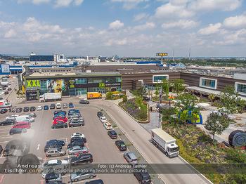 Saisonstart - CityWave SCS Multiplex - Fr 08.06.2018 - SCS Multiplex Terassen Übersichtsfoto, Luftbild, Drohnenfoto115