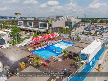 Saisonstart - CityWave SCS Multiplex - Fr 08.06.2018 - CITYWAVE bei der SCS Multiplex Übersichtsfoto, Luftbild, Drohne120