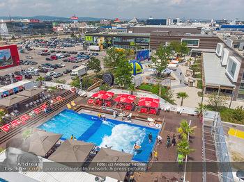 Saisonstart - CityWave SCS Multiplex - Fr 08.06.2018 - CITYWAVE bei der SCS Multiplex �bersichtsfoto, Luftbild, Drohne121