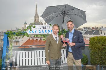 Belvedere Sky Garden - On Top Hypo NOE - Di 12.06.2018 - Clemens TRISCHLER, Markus FERRIGATO9
