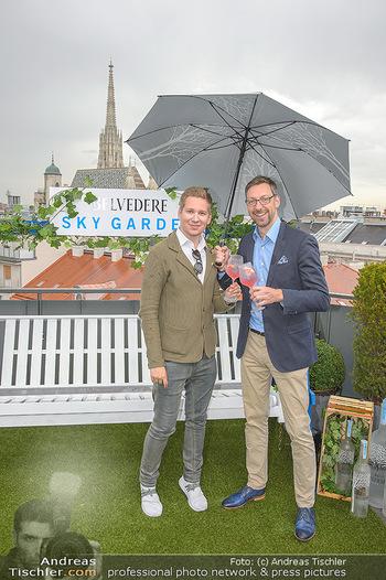 Belvedere Sky Garden - On Top Hypo NOE - Di 12.06.2018 - Clemens TRISCHLER, Markus FERRIGATO10