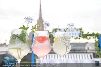 Belvedere Sky Garden - On Top Hypo NOE - Di 12.06.2018 - Drinks mit Stephansdom im Hintergrund23