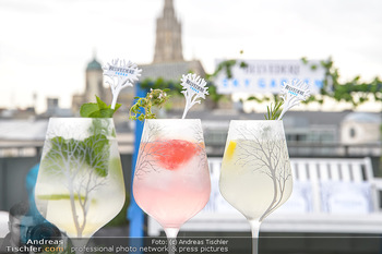 Belvedere Sky Garden - On Top Hypo NOE - Di 12.06.2018 - Drinks mit Stephansdom im Hintergrund24