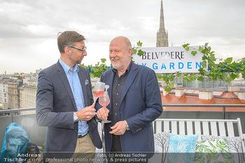Belvedere Sky Garden - On Top Hypo NOE - Di 12.06.2018 - Markus FERRIGATO, Roberto LHOTKA34