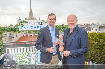 Belvedere Sky Garden - On Top Hypo NOE - Di 12.06.2018 - Markus FERRIGATO, Roberto LHOTKA35