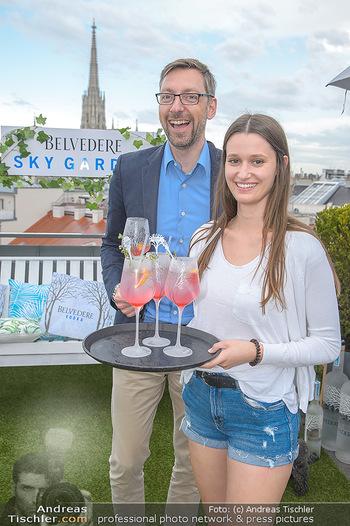 Belvedere Sky Garden - On Top Hypo NOE - Di 12.06.2018 - Antonia HAUSMAIR, Markus FERRIGATO51