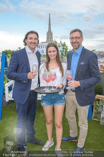 Belvedere Sky Garden - On Top Hypo NOE - Di 12.06.2018 - Joachim BANKEL, Antonia HAUSMAIR, Markus FERRIGATO53