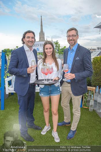 Belvedere Sky Garden - On Top Hypo NOE - Di 12.06.2018 - Joachim BANKEL, Antonia HAUSMAIR, Markus FERRIGATO54