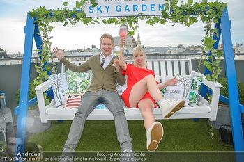 Belvedere Sky Garden - On Top Hypo NOE - Di 12.06.2018 - Clemens TRISCHLER, Rebecca RAPP69