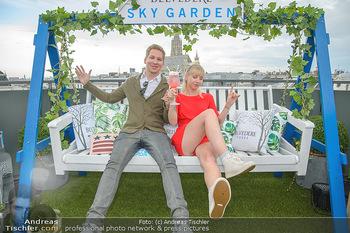 Belvedere Sky Garden - On Top Hypo NOE - Di 12.06.2018 - Clemens TRISCHLER, Rebecca RAPP70