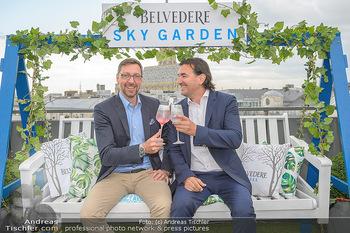 Belvedere Sky Garden - On Top Hypo NOE - Di 12.06.2018 - Markus FERRIGATO, Joachim BANKEL75