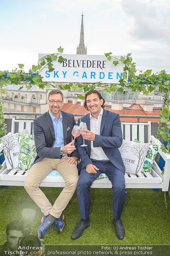 Belvedere Sky Garden - On Top Hypo NOE - Di 12.06.2018 - Markus FERRIGATO, Joachim BANKEL76
