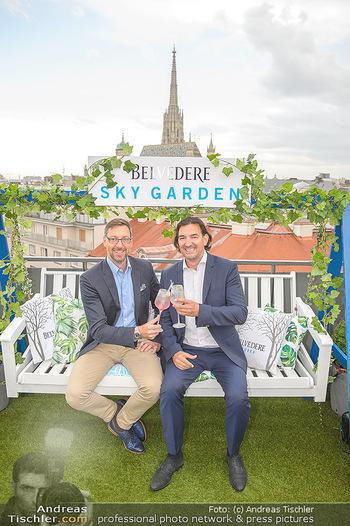 Belvedere Sky Garden - On Top Hypo NOE - Di 12.06.2018 - Markus FERRIGATO, Joachim BANKEL77