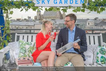 Belvedere Sky Garden - On Top Hypo NOE - Di 12.06.2018 - Markus FERRIGATO, Rebecca RAPP80