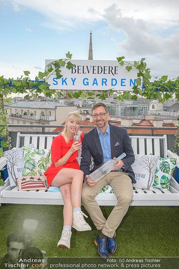 Belvedere Sky Garden - On Top Hypo NOE - Di 12.06.2018 - Markus FERRIGATO, Rebecca RAPP82