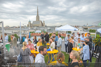 Belvedere Sky Garden - On Top Hypo NOE - Di 12.06.2018 - Rooftop Bar, Sommerfest, Terrassenparty, Terrasse, Stephansdom97