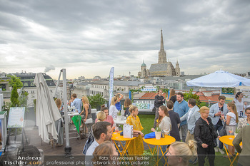 Belvedere Sky Garden - On Top Hypo NOE - Di 12.06.2018 - Rooftop Bar, Sommerfest, Terrassenparty, Terrasse, Stephansdom99