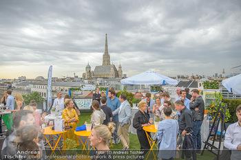 Belvedere Sky Garden - On Top Hypo NOE - Di 12.06.2018 - Rooftop Bar, Sommerfest, Terrassenparty, Terrasse, Stephansdom100