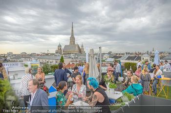 Belvedere Sky Garden - On Top Hypo NOE - Di 12.06.2018 - Rooftop Bar, Sommerfest, Terrassenparty, Terrasse, Stephansdom101