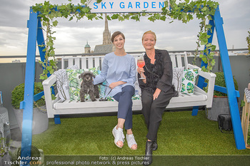 Belvedere Sky Garden - On Top Hypo NOE - Di 12.06.2018 - Maria YAKOVLEVA, Michou FRIESZ109