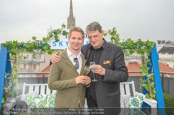 Belvedere Sky Garden - On Top Hypo NOE - Di 12.06.2018 - Dieter CHMELAR, Clemens TRISCHLER119