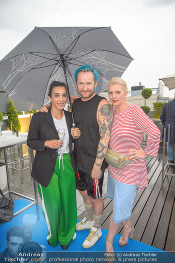 Belvedere Sky Garden - On Top Hypo NOE - Di 12.06.2018 - Alma MILCIC, Franz Josef BAUR, Liane SEITZ143