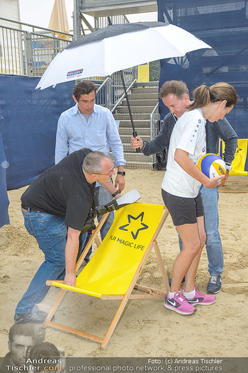 Promi Beachvolleyball - Strandbad Baden - Mi 13.06.2018 - 14