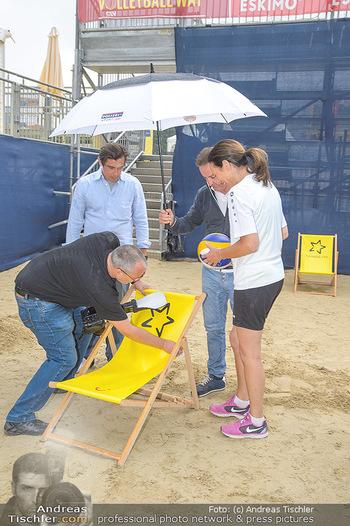 Promi Beachvolleyball - Strandbad Baden - Mi 13.06.2018 - 15