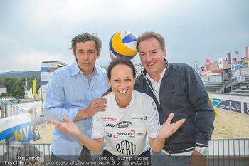 Promi Beachvolleyball - Strandbad Baden - Mi 13.06.2018 - Werner SCHREYER, Kurt FAIST, Vera RUSSWURM17