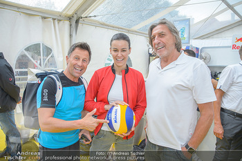 Promi Beachvolleyball - Strandbad Baden - Mi 13.06.2018 - Norbert BLECHA, Hans ENN, Kerstin LECHNER23