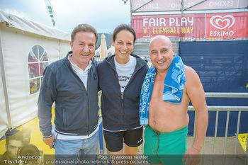 Promi Beachvolleyball - Strandbad Baden - Mi 13.06.2018 - Christoph FÄLBL, Vera RUSSWURM, Kurt FAIST31
