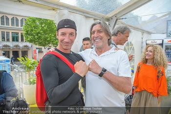 Promi Beachvolleyball - Strandbad Baden - Mi 13.06.2018 - Michael SEIDA, Norbert BLECHA37