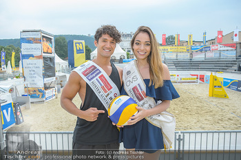 Promi Beachvolleyball - Strandbad Baden - Mi 13.06.2018 - Alberto NODALE, Celine SCHRENK46