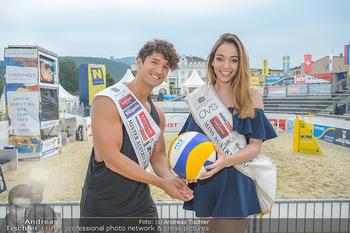 Promi Beachvolleyball - Strandbad Baden - Mi 13.06.2018 - Alberto NODALE, Celine SCHRENK47