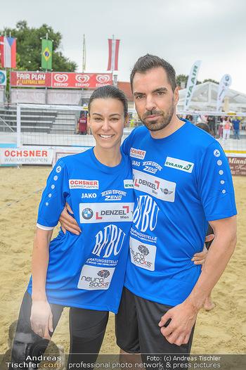 Promi Beachvolleyball - Strandbad Baden - Mi 13.06.2018 - Kerstin LECHNER, Karl OCHSNER56