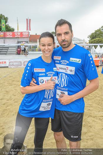 Promi Beachvolleyball - Strandbad Baden - Mi 13.06.2018 - Kerstin LECHNER, Karl OCHSNER57