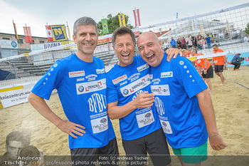 Promi Beachvolleyball - Strandbad Baden - Mi 13.06.2018 - Michael HADSCHIEFF, Hans ENN, Christoph FÄLBL58