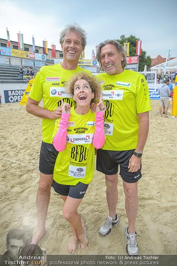 Promi Beachvolleyball - Strandbad Baden - Mi 13.06.2018 - Oliver STAMM, Sandra PIRES, Norbert BLECHA77