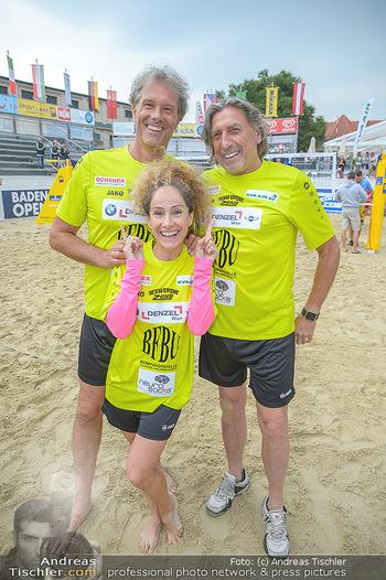 Promi Beachvolleyball - Strandbad Baden - Mi 13.06.2018 - Oliver STAMM, Sandra PIRES, Norbert BLECHA78