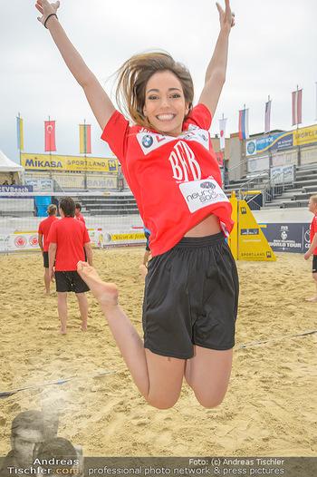 Promi Beachvolleyball - Strandbad Baden - Mi 13.06.2018 - Celine SCHRENK81