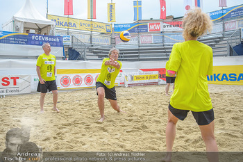 Promi Beachvolleyball - Strandbad Baden - Mi 13.06.2018 - Martin DOLEZAL, Oliver STAMM, Sandra PIRES88