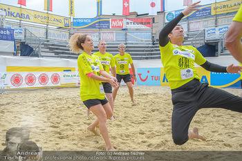 Promi Beachvolleyball - Strandbad Baden - Mi 13.06.2018 - Sandra PIRES, Michael SEIDA89