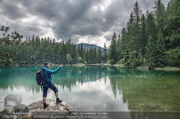 Österreich in Farben - Österreich - Mo 02.07.2018 - Grüner See Steiermark Wandern Wanderer Mann Ausflugsparadies Na11