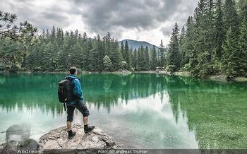 Österreich in Farben - Österreich - Mo 02.07.2018 - Grüner See Steiermark Wandern Wanderer Mann Ausflugsparadies Na12