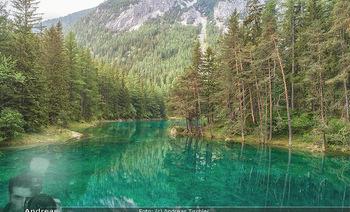 Österreich in Farben - Österreich - Mo 02.07.2018 - Grüner See von oben, Luftbild, Wasserqualität Österreich, Ber14