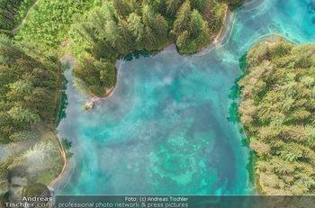 Österreich in Farben - Österreich - Mo 02.07.2018 - Grüner See von oben, Luftbild, Wasserqualität Österreich, Ber15
