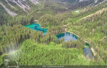 Österreich in Farben - Österreich - Mo 02.07.2018 - Grüner See von oben, Luftbild, Wasserqualität Österreich, Ber17