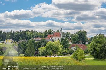 Österreich in Farben - Österreich - Mo 02.07.2018 - Kleines Dorf mit Kirche im Waldviertel37