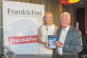 Frank Stronach Buch Die Frage aller Fragen - Skybar - Mi 04.07.2018 - Frank STRONACH, Ulla WEIGERSTORFER14