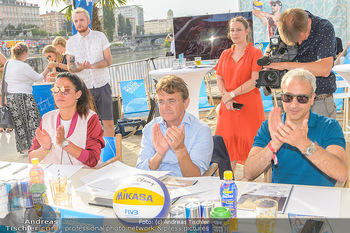 Beachvolleyball Casting - Tel Aviv Beach Club - Mi 04.07.2018 - Hannes JAGERHOFER6
